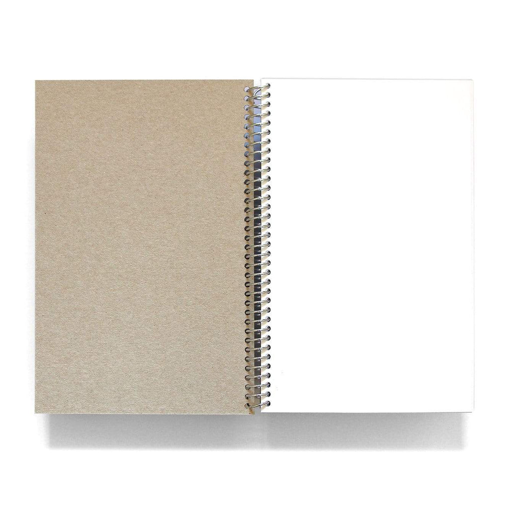 Igloo Letterpress Accessories First in Flight spiral-bound notebook with letterpress cover (6x9)