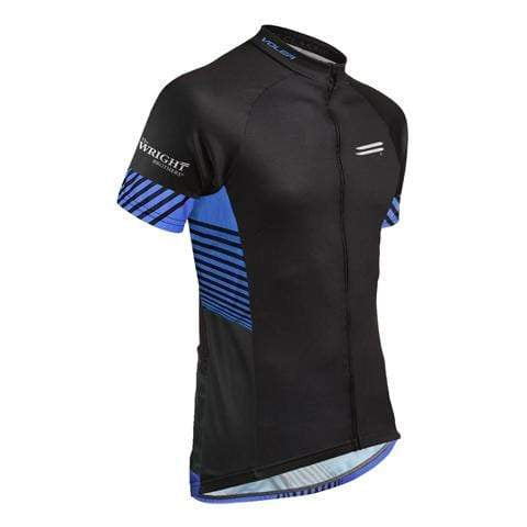 Van Cleve® youth's cycling jersey | short sleeve, 3/4 zipper