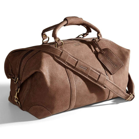 "22"" Waxed-canvas duffel"