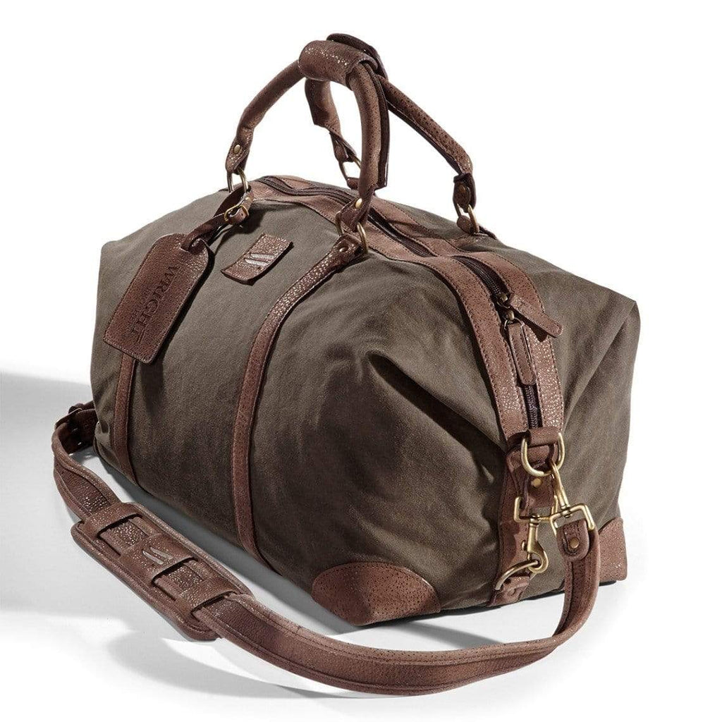 "The Wright Brothers USA Bags & Cases 22"" Waxed-canvas duffel"