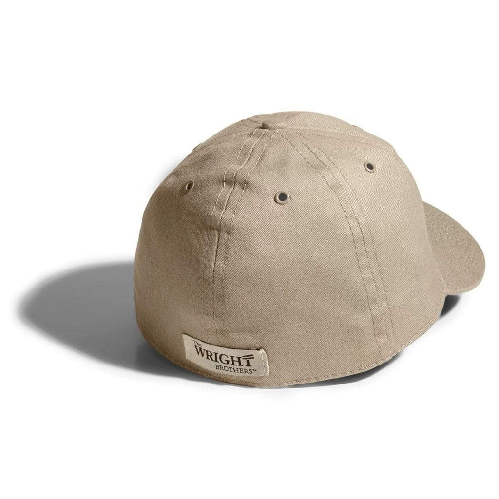 The Wright Brothers USA Caps Cotton twill flight cap | fitted, Khaki