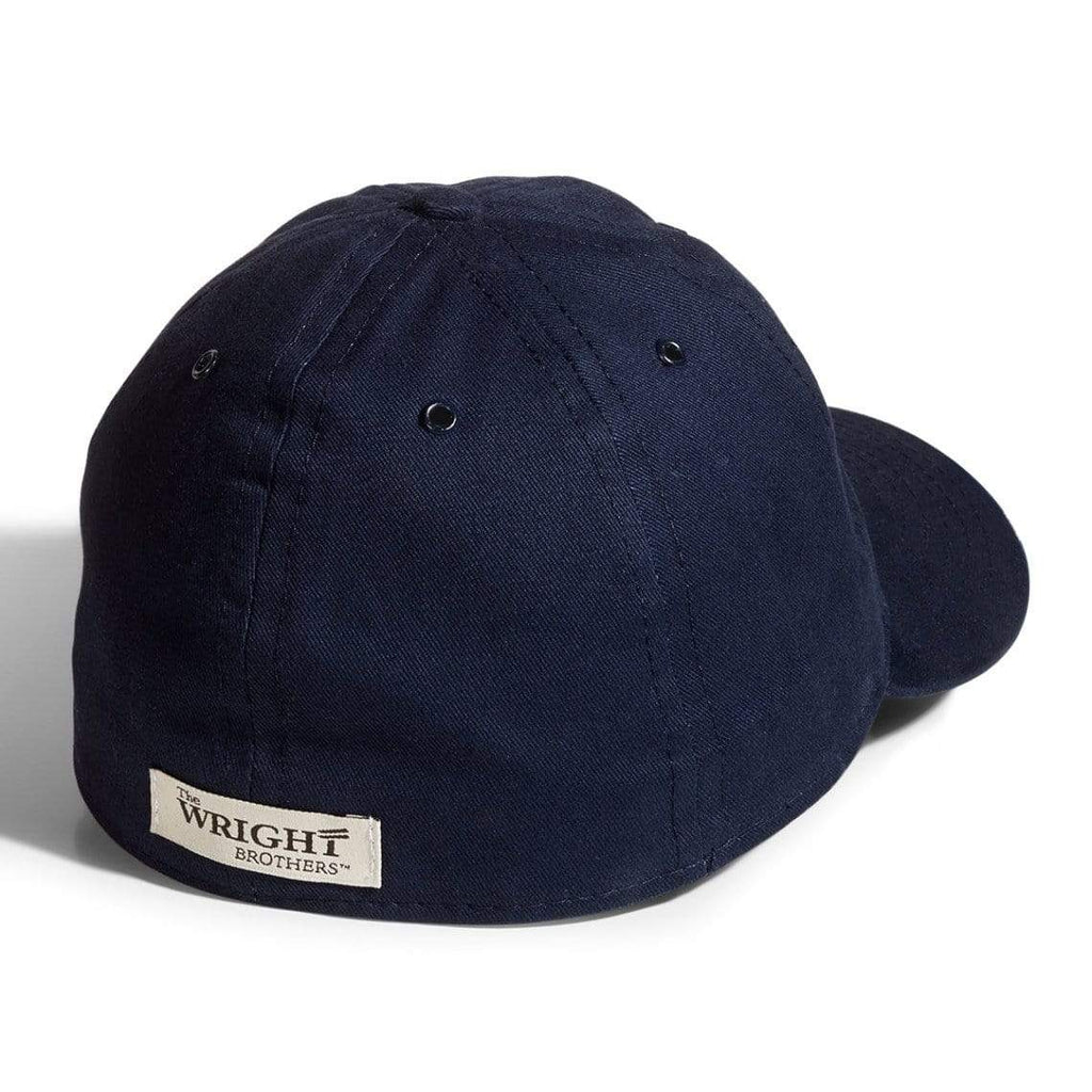 The Wright Brothers USA Caps Cotton twill flight cap | fitted, Navy