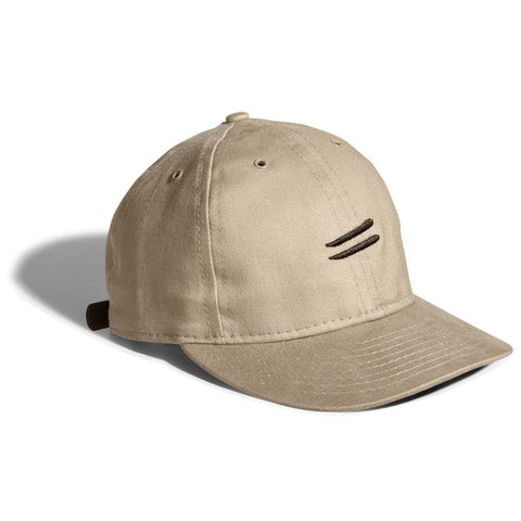 Cotton twill flight cap | fitted, Khaki