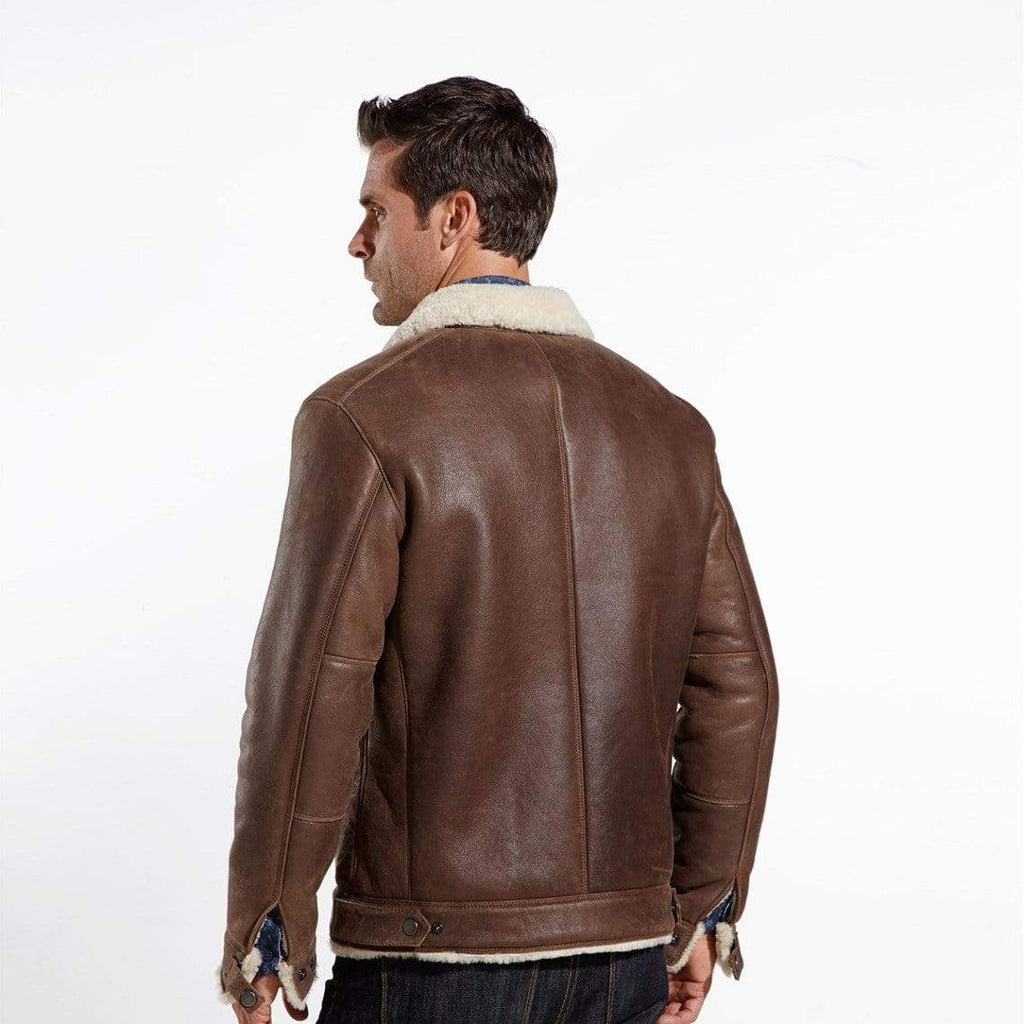 The Wright Brothers USA Jacket Leather flight jacket | full shearling