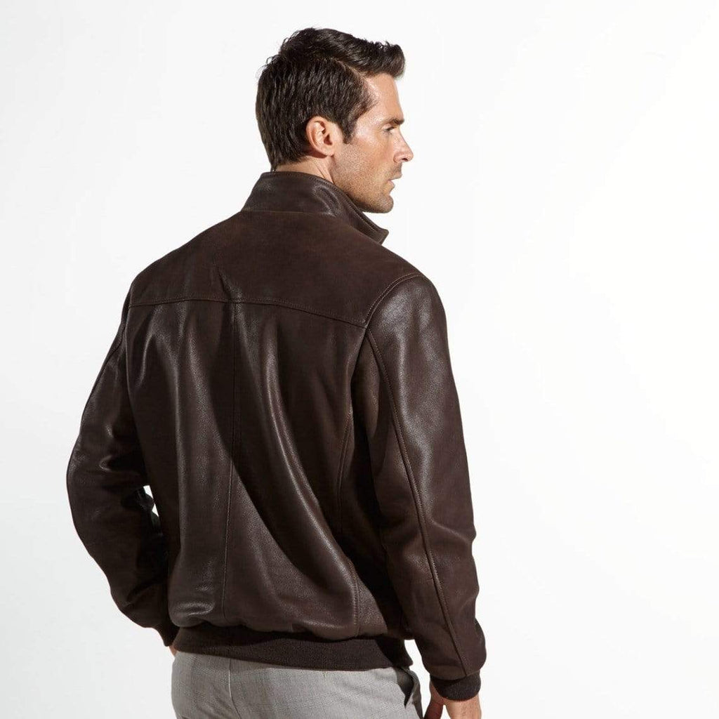 The Wright Brothers USA Jackets Leather flight jacket | satin-lined