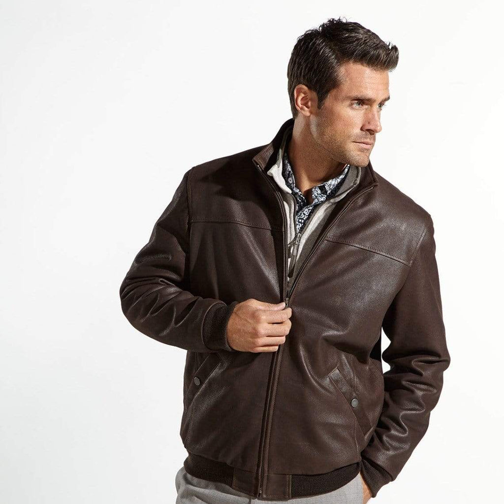 The Wright Brothers USA Jackets S Leather flight jacket | satin-lined
