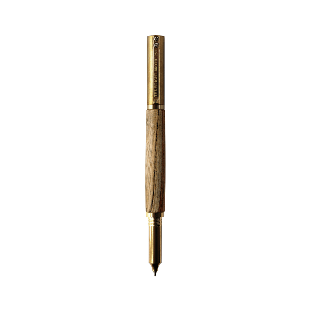 The Wright Brothers USA Pens and Notepads Huffman Prairie rollerball pen | brass