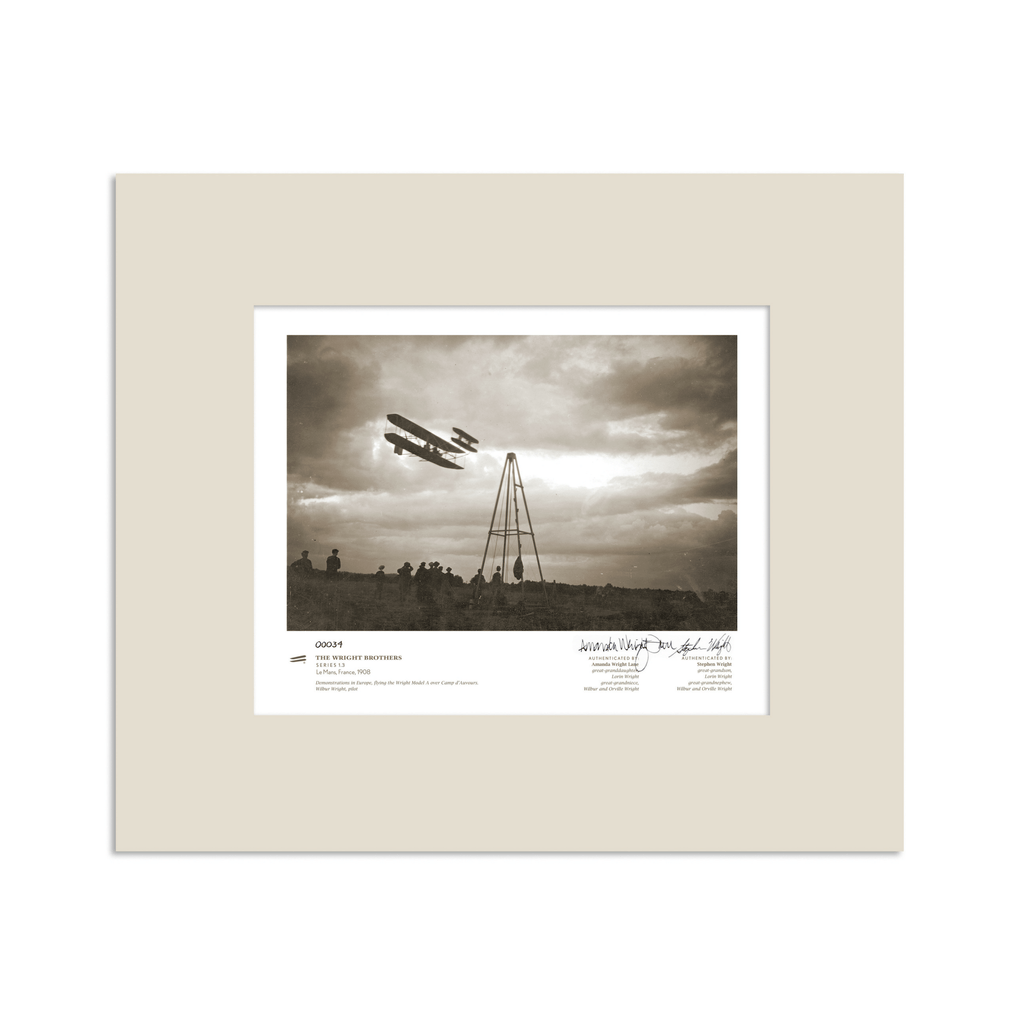 The Wright Brothers USA prints 14 x 11 Le Mans Series 1.3 | signed & matted Giclée print
