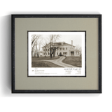 The Wright Brothers USA prints Hawthorn Hill Series 1.6 | signed & framed Giclée print (14x11)