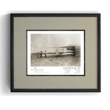 The Wright Brothers USA prints Huffman Prairie Series 1.2 | signed & framed Giclée print (14x11)
