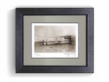 The Wright Brothers USA prints Huffman Prairie Series 1.2 | signed & framed Giclée print (larger formats)