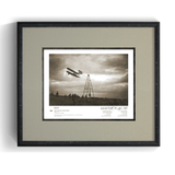 The Wright Brothers USA prints Le Mans Series 1.3 | signed & framed Giclée print (14x11)