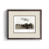 The Wright Brothers USA Prints Pau Series 1.4 | framed Giclée print (14x11)