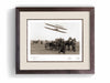 The Wright Brothers USA Prints Pau Series 1.4 | framed Giclée print (larger formats)