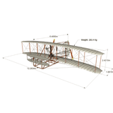 The Wright Brothers USA Replicas 1903 Wright Flyer I | full-scale replica