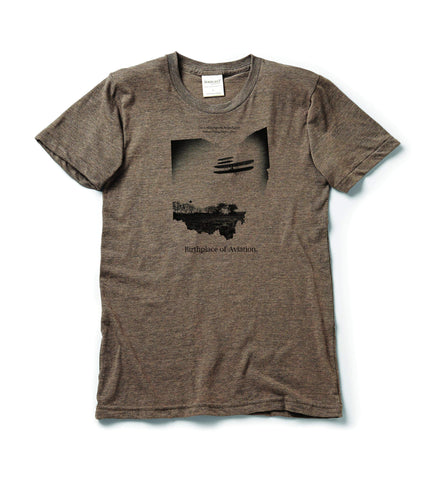 Fly Wright. T-shirt | short sleeve, Athletic Grey