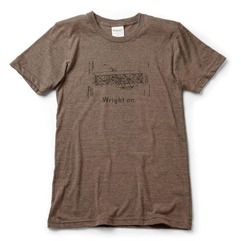 The Wright dream. T-shirt | short sleeve, Athletic Grey