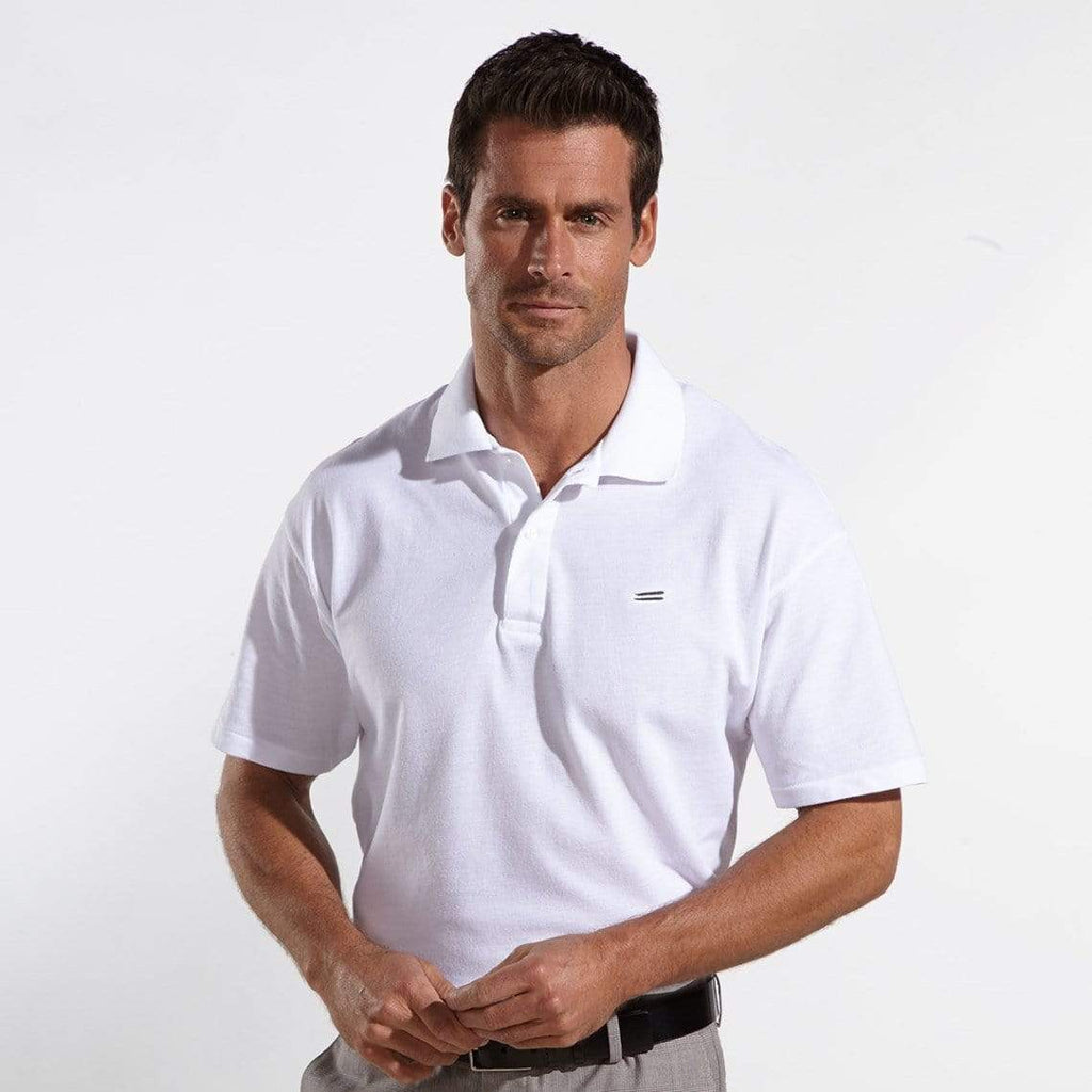 The Wright Brothers USA Shirts & Sweaters Cotton pique tennis shirt | White