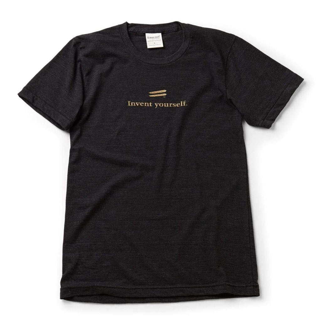 The Wright Brothers USA Shirts & Sweaters S Invent yourself. T-shirt | short sleeve, Tri-Black