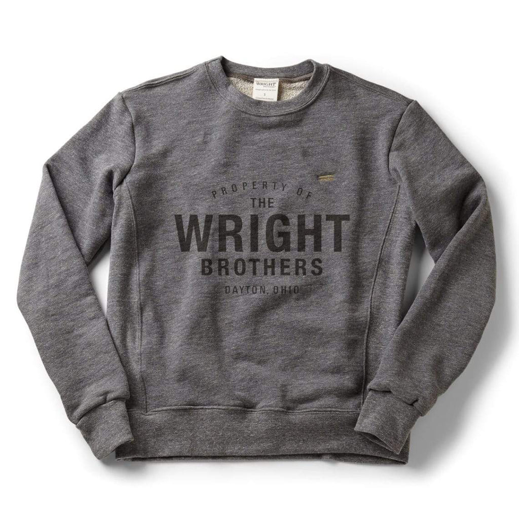 The Wright Brothers USA Shirts & Sweaters S Property of The Wright Brothers classic crew sweatshirt | Zinc