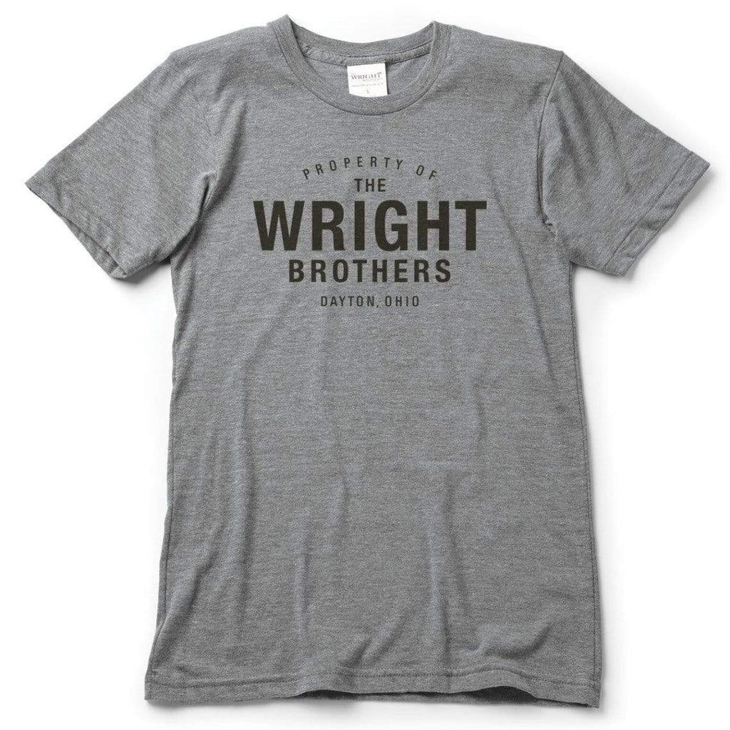 The Wright Brothers USA Shirts & Sweaters S Property of The Wright Brothers. T-shirt | short sleeve, Athletic Grey