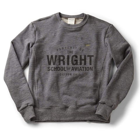 Property of The Wright Brothers. T-shirt | short sleeve, Athletic Grey