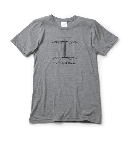 Who was first? T-shirt | short sleeve, Athletic Grey