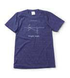The Wright Brothers USA Shirts & Sweaters Wright angle. T-shirt | short sleeve, Tri-Indigo