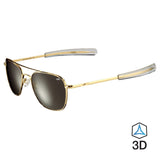 The Wright Brothers USA Sunglasses 1360 Series sunglasses | 23k Gold-plated
