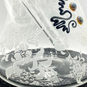 Roor Glass- Bkr 14' 45x5 Sandblasted