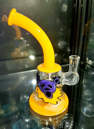 Windstar Glass Dancing Bear Rig