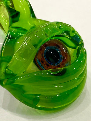 Mako Glass- Eye Pendants