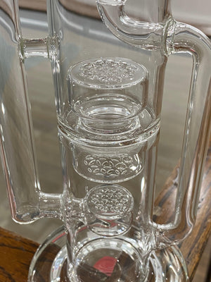CalyX Glass SOL Triple Perc Recycler