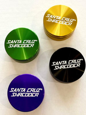 Santa Cruz Shredder- 2 Piece Small Grinder