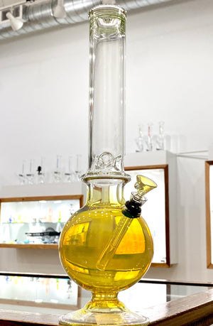 CHV Glass- Tall Grom Fume Martini