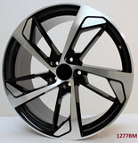 Wheels for AUDI. Model 1277BM