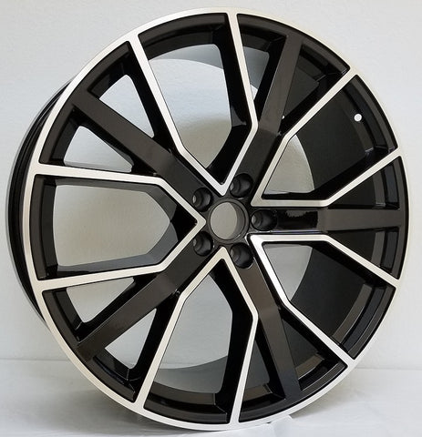 Wheels for AUDI. Model 1332BM ( SOLD AS SET ONLY )