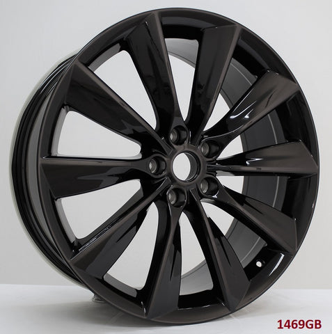 Wheels for Tesla. Model: 1469GB ( SOLD AS SET ONLY )