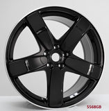 Wheels for Porsche. Model: 5568BML