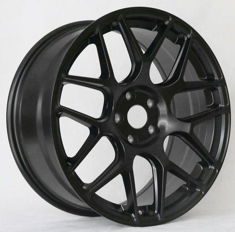 Tuner Wheels T606SB: Available in 5x112, 5x120 & 5x114.3 Bolt Pattern