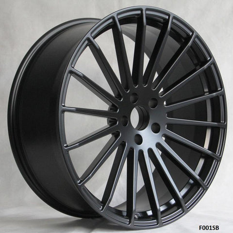 Wheels for MERCEDES & BENTLEY. Model F001SB. Forged Wheels.