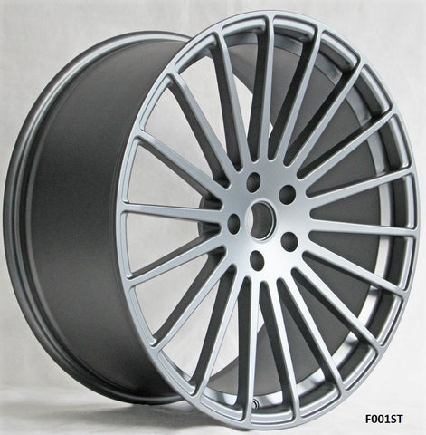 Model F001ST. Forged Wheels