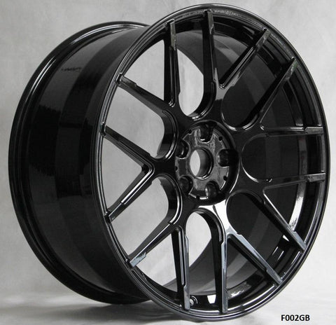 Wheels for Tesla. Model F002GB. Forged Wheels