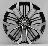 Tuner Wheels F0028 / Black Machine face