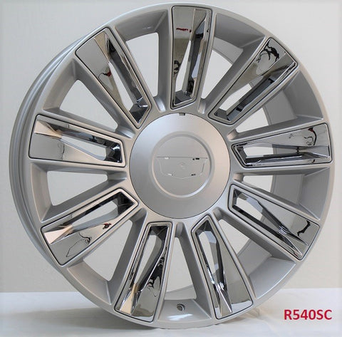 Wheels for Cadillac, GMC, Chevy. Model: R540SC.