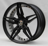 Tuner Wheels S0049 / Sateen black with machine inner