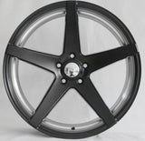 Tuner Wheels T604 / Sateen Black with Machine Inner