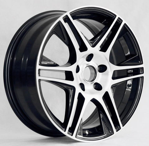 Tuner Wheels Z107 / Black Machine face