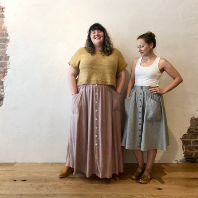 Estuary Skirt by Sew Liberated