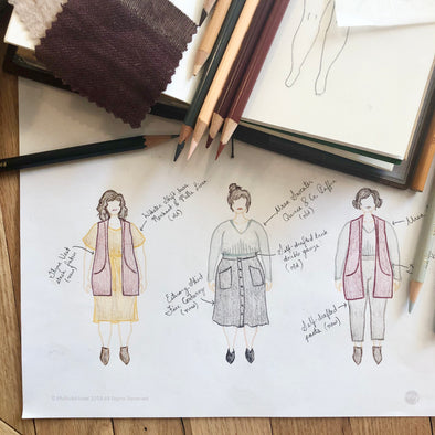 Introducing the capsule wardrobe project at EWE